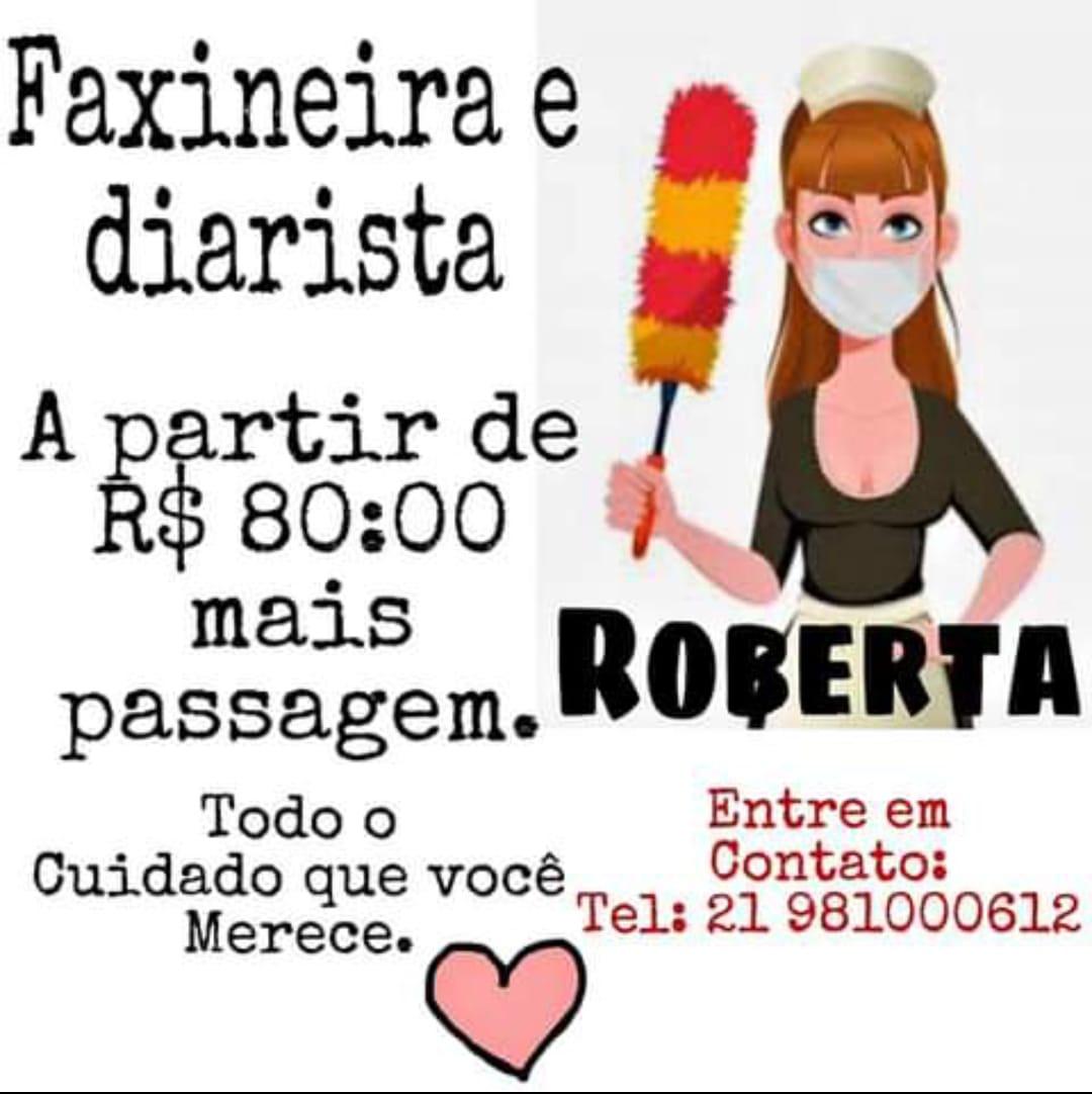 Faxineira e Diarista Roberta