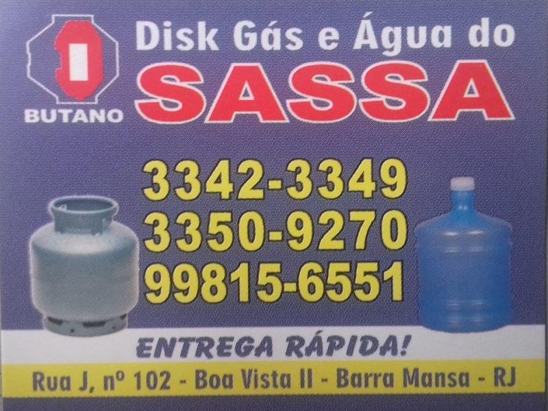 Disk Gás e Água do Sassá