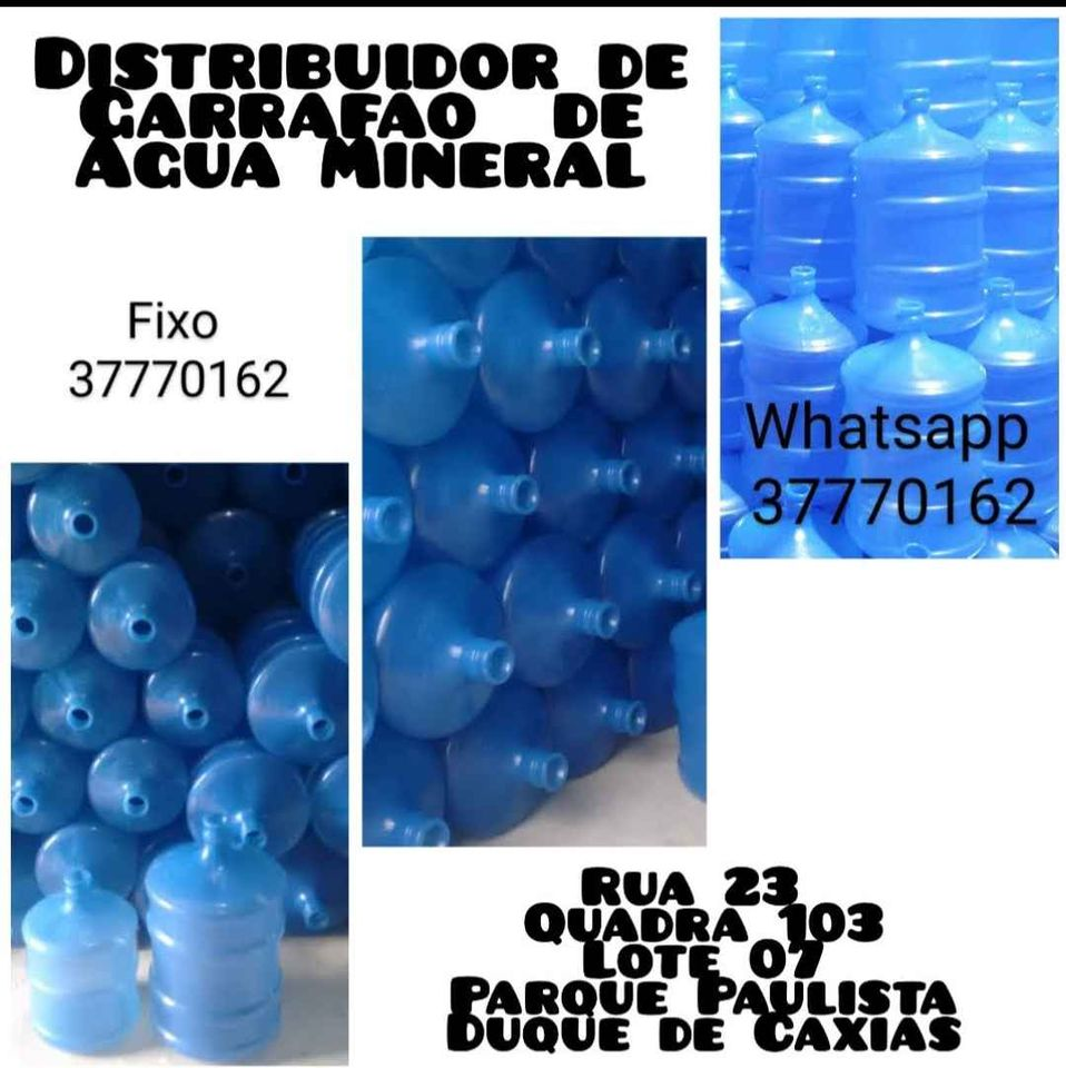 Distribuidor de Água