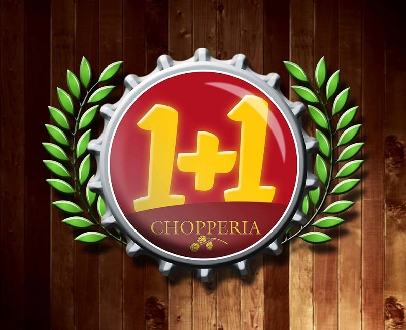 1+1 CHOPERIA E PETISCARIA