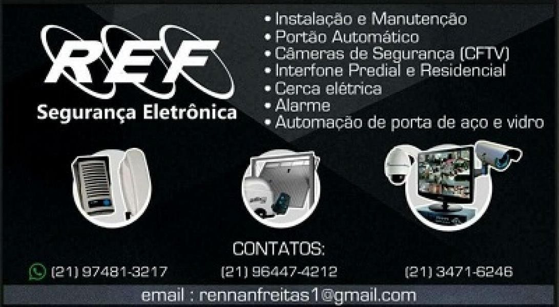 REF Segurança Eletrônica