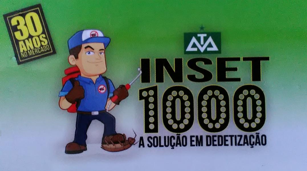INSET 1000 Dedetização